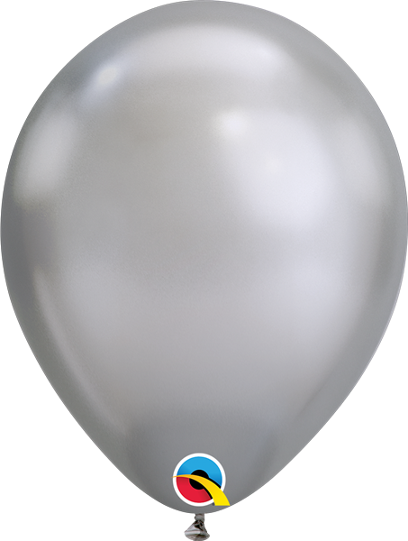 Qualatex Latexballon Chrome Silver Ø 30cm